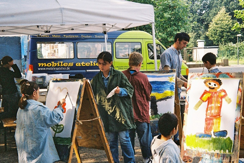 Mobiles Atelier Moku